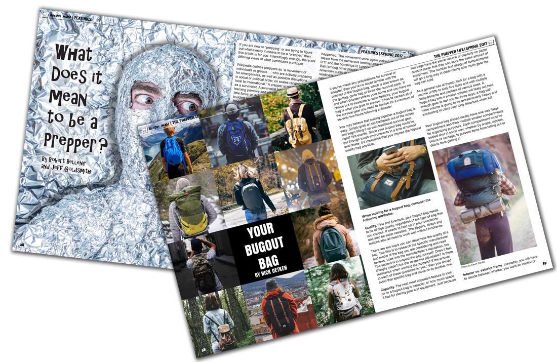 BugOut Magazine Layouts