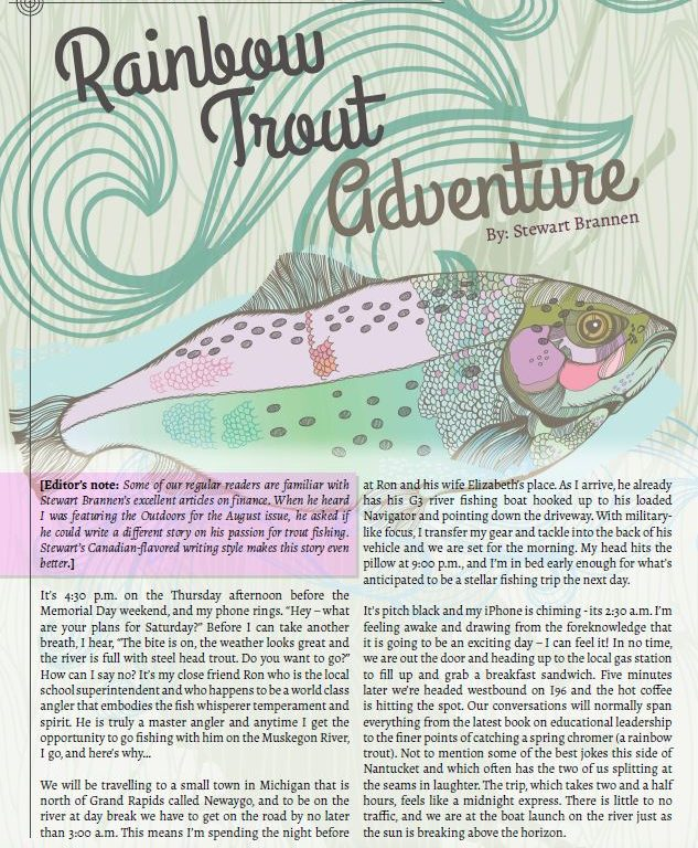 Rainbow Trout Adventure from Surplus Today